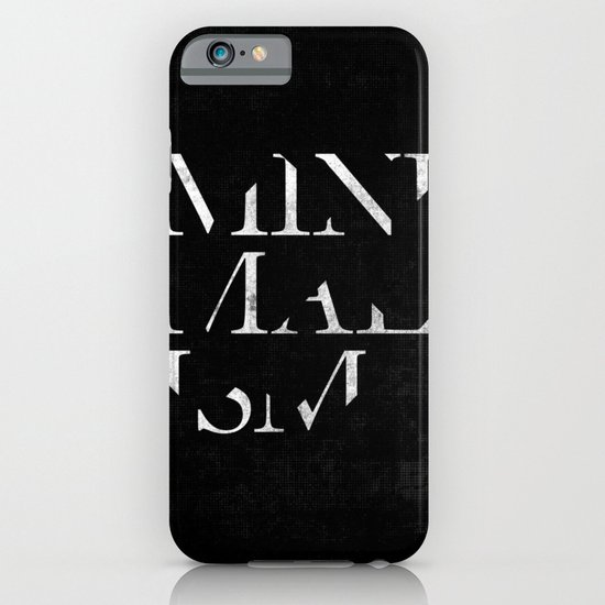 Minimalism iPhone & iPod Case