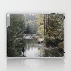 All the Drops form a River - landscape photography Laptop & iPad Skin