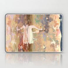 Swan boat Laptop & iPad Skin
