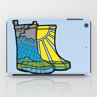 Rainy Day Boots iPad Case