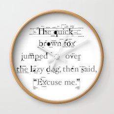 The Quick Wall Clock