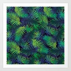 Jungle Night Art Print