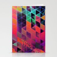 synthstar retro:80 Stationery Cards