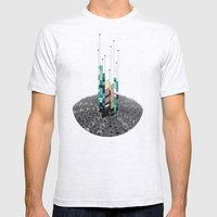 Antennas Mens Fitted Tee Ash Grey SMALL
