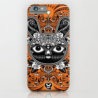Day Of The Dead Bunny Celebration iPhone 6 Slim Case