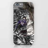 iPhone & iPod Case featuring BounD Issue #2 Cover (large logo) by Hexapus Ink
