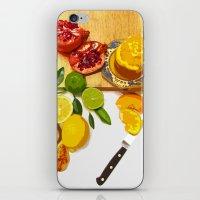 Still Life With Pomegran… iPhone & iPod Skin