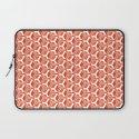 pattern red Laptop Sleeve