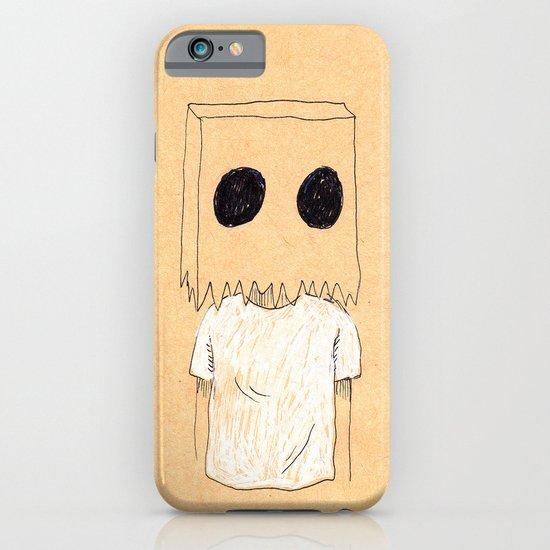 Paper Bag Boy iPhone & iPod Case