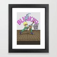 Blink Bunny Framed Art Print