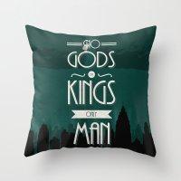 Rapture Travel Poster Throw Pillow