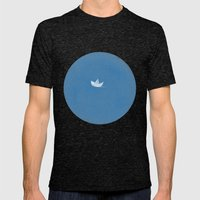 into the sea Mens Fitted Tee Tri-Black SMALL