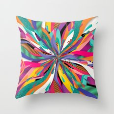 Pop Tunnel Throw Pillow