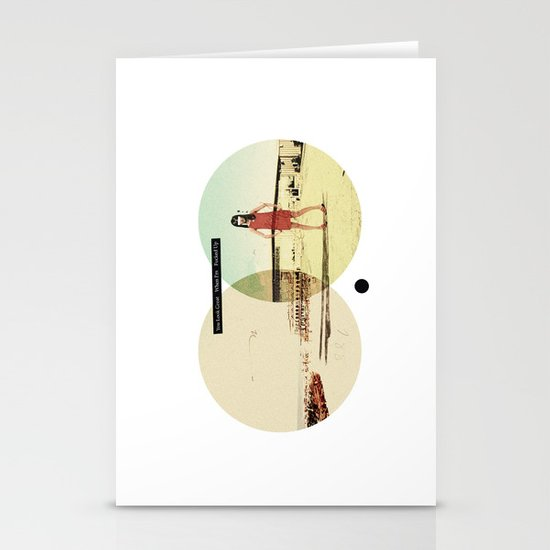 You Look Great When I'm (...) Fucked Up | Collage Stationery Card