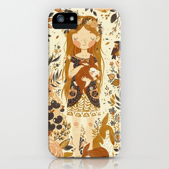 The Queen of Pentacles iPhone & iPod Case