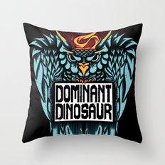 Dominant Owl Throw Pillow