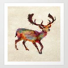 Oh deer ! Art Print