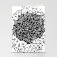 Geode Geometry Stationery Cards