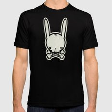 SKULL BUNNY of PIRATE - EP02 MOSS V. Black SMALL Mens Fitted Tee