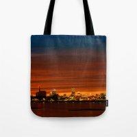 Boston, Christams Night … Tote Bag