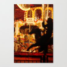 The Rides, The Rider Canvas Print