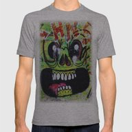 GNOME Mens Fitted Tee Athletic Grey SMALL