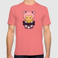 Kokeshi Ayame  Mens Fitted Tee Pomegranate SMALL