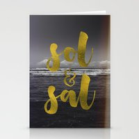 Sol & Sal Stationery Cards