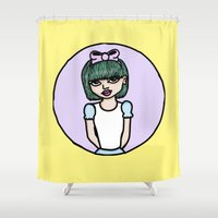 Bow Peep Shower Curtain