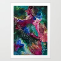 ORBIT Galaxy Print. Art Print
