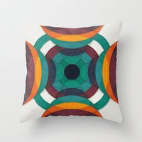To The Core Throw Pillow