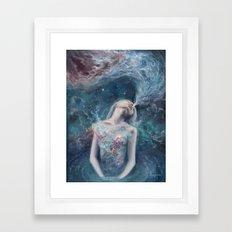 Love Will Split You Open Into Light Framed Art Print