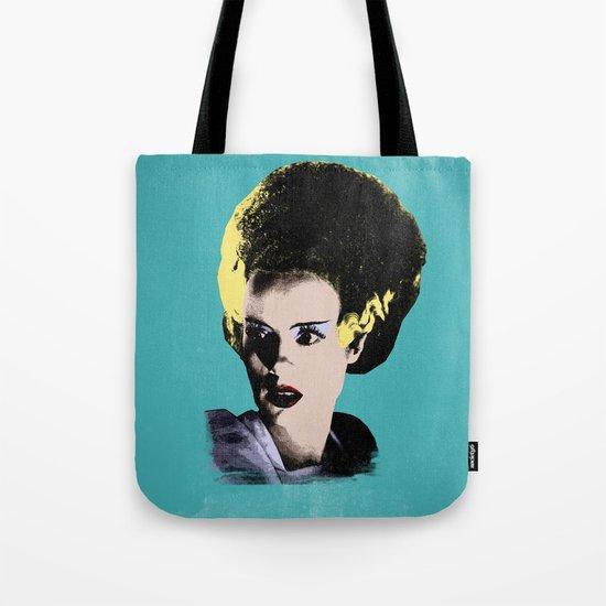 The Beautiful Bride of Frankenstein Tote Bag
