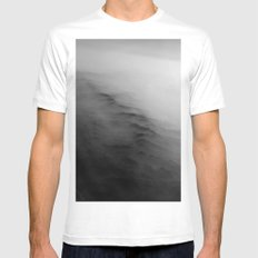 Clouds & Hills SMALL Mens Fitted Tee White