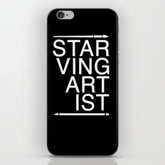 Starving Artist iPhone & iPod Skin