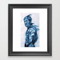 Sea Creature Framed Art Print