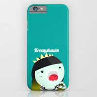 iPhone & iPod Case featuring Mini Kreayhawn by nomnom factory