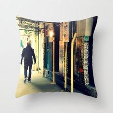 Neals Yard London Throw Pillow