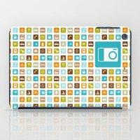 Travel Icons iPad Case