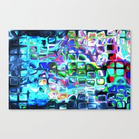 Pieces of Inspiration Canvas Print