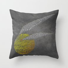 Harry Potter Movie Art Print -The Sorcerer's Stone Throw Pillow