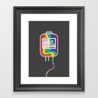Fairytale Transfusion Framed Art Print