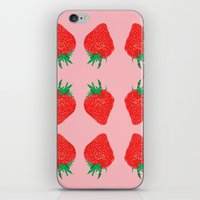 Strawberry Motif, 2013. iPhone & iPod Skin