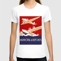 T-shirts featuring City of New York Airports Travel by Yesteryears