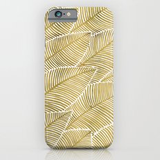 Tropical Gold iPhone 6 Slim Case
