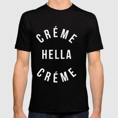 Creme 2.0 Mens Fitted Tee Black SMALL