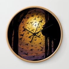 Flock Together Wall Clock