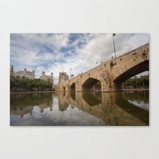 Pont del Mar Canvas Print
