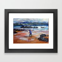 Blue Boy At Embo Framed Art Print