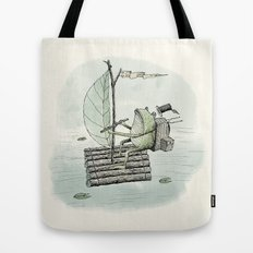 'Raft' (Colour) Tote Bag